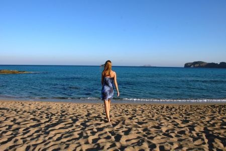 Falasarna o poranku Kreta