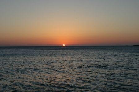 Falasarna zachód słońca