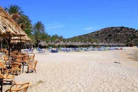 Plaża w Vai