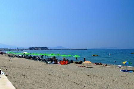 Plaża w Rethymnon
