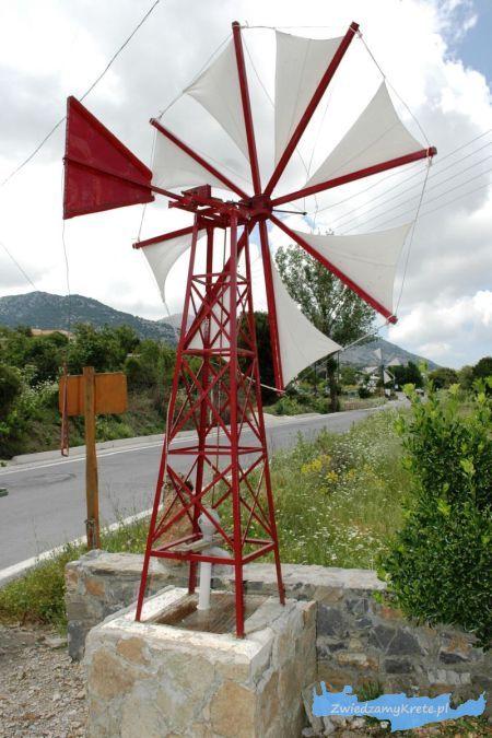 Płaskowyż Lassithi: wiatrak, Kreta