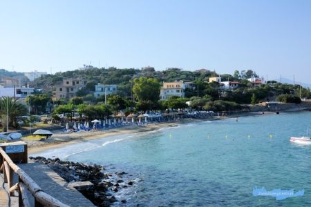 Ammoudara plaża Kreta