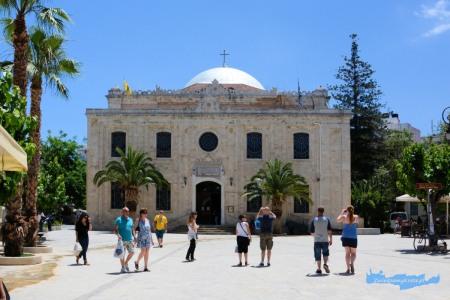 Kościół św. Tytusa - Ayios Titos w Iraklion Kreta
