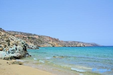 Itanos plaża Kreta