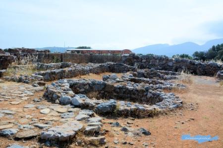 Wykopaliska Malia Kreta silosy