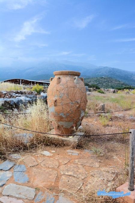 Wykopaliska Malia Kreta