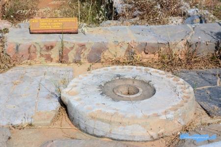 Wykopaliska Malia stół ofiarny Kreta