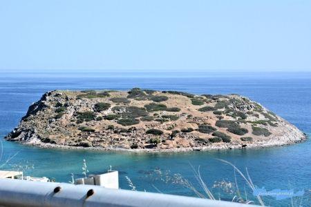 Wyspa Mochlos zwana również Agios Nikolaos Kreta