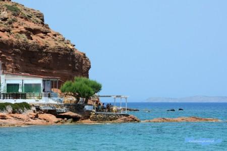 Paleokastro plaża Kreta