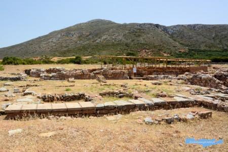 Wykopaliska w Roussolakkos Kreta