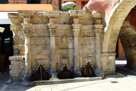 Fontanna Rimondiego Rethymnon Kreta