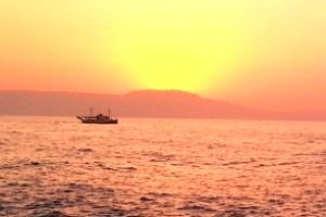 Zachody słońca na Krecie