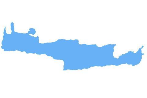 Mapa Kreta