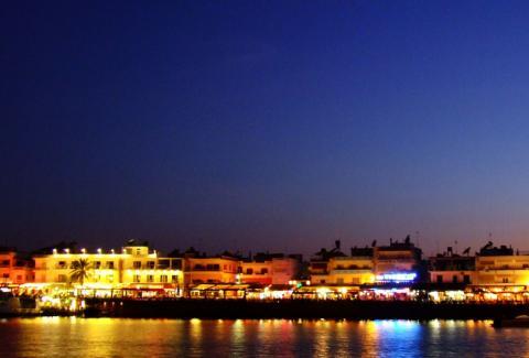 Kreta nocą